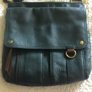 Fossil Bags - NWOT Green leather Fossil Purse